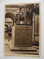 PESARO - MONUMENTO A GIOACCHINO ROSSINI   VIAGGIATA  COME DA FOTO     * ** - Pesaro