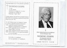 28 -AALMOEZENIER-RAYMOND EGGERS-PRIESTER-LICHTAART-TIENEN-ANTWERPEN-EUSKIRCHEN-TURNHOUT-GEEL-HERENTALS - Images Religieuses