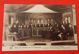 """FAYT LEZ MANAGE  -  La Cour D'Assises à Fayt Lez Manage -  """" Dans Les Ténèbres """" Par G. Paternostre - Manage"""