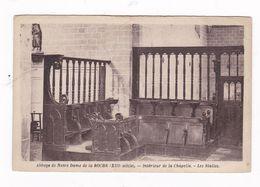 CPSM Abbaye De Notre-Dame De La Roche, Yvelines, La Chapelle - Le Mesnil Saint Denis
