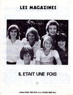 """1975 - PARTITION """" LES MAGAZINES """" PAR GROUPE """" IL ETAIT UNE FOIS """" - EXC ETAT COMME NEUF - - Musik & Instrumente"""