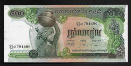 """500 Riels  """"CAMBODGE""""      P16   UNC    Ro41 - Cambodge"""