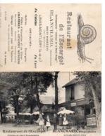 LINAS-MONTHLERY - Restaurant De L'Escargot - BLANCHARD Propriétaire - Francia