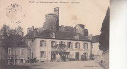 BILY PRES ST GERMAINS DES FOSSES  CHATEAU - Autres Communes