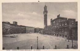 RP: SIENA , Toscana , Italy , 1910-30s , Piazza Vittorio Emanuele - Il Campo - Siena