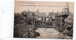 D 80 SOMME 10 CARTES DE LA FRANCE RECOQUISE  HAM - Cartes Postales