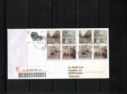 Spain 2018 Interesting Registered Letter - 2011-... Lettres