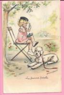 CPA GERMAINE BOURET La Femme Fatale Ecrite1945 Edit D Art : GUY N083 - Bouret, Germaine