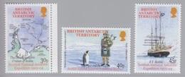 BAT, N° 349 à 354 (Expédition Ecossaise De 1902-04, ...), Neufs ** - Britisches Antarktis-Territorium  (BAT)