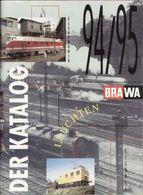 Catalogue BRAWA 1994/95 Maxi Katalog Loks Leuchten Signale HO TT N Z G - Libros Y Revistas