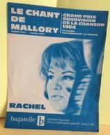 Grand Prix Eurovision De La Chanson 1964 - Rachel Bagatelle, Le Chant De Mallory (Partition 1964) - Liederbücher