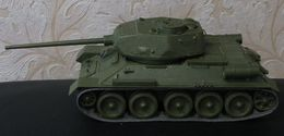 Russia Model Soviet Tank Т - 34 - 85 1944 Zvezda 1993 1:35 Handmade - Chars
