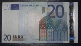 20 EURO Netherlands G008G4 Serie P UNCIRCULATED - EURO