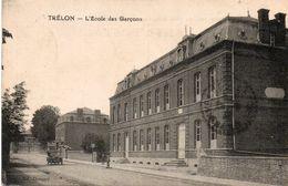 59842TrélonL'école Des GarçonsCirculée 1932 - France
