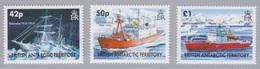 BAT, N° 396 à 398 (Navires Endurance), Neufs ** - Britisches Antarktis-Territorium  (BAT)