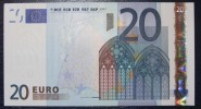 20 EURO G014A4 Netherlands Serie P Perfect UNC - EURO