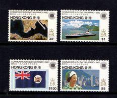 HONG  KONG    1983    Commonwealth  Day    Set  Of  4    MNH - Hong Kong (...-1997)
