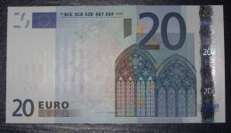 20 EURO Netherlands G007H4 Serie P UNCIRCULATED - EURO