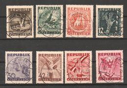"""Österreich 1946:  """"Antifa-Ausstellung""""  7784/91 Gestempelt (siehe Foto/Scan) - 1945-60 Gebraucht"""