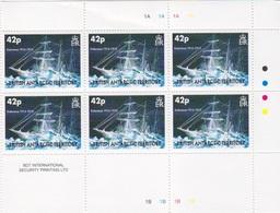 BAT, N° 396 à 398 X 6 (Navires Endurance), Neufs ** - Britisches Antarktis-Territorium  (BAT)