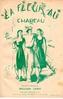 """1937 - """" LA FLEUR AU CHAPEAU """" DE WILLIAM LEMIT - ILLUSTREE PAR MARIANNE CLOUZOT COUSINE D'HENRI GEORGES - BON ETAT - - Musique & Instruments"""