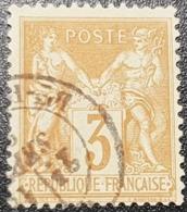 Sage N° 86 Avec Oblitération Cachet à Date  TTB - 1876-1898 Sage (Type II)