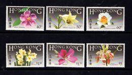HONG  KONG    1985    Native  Flowers    Set  Of  6    MNH - Hong Kong (...-1997)