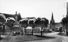 59427WallersLe Monuments Aux Morts - La Rue De L'EgliseNon Circulée - France