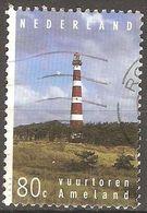 Pays Bas - 1994 - Phare De L'île D'Ameland  - YT 1487 Oblitéré - 1980-... (Beatrix)