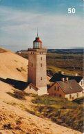 DENMARK(chip) - Rubjerg Knude Lighthouse, Tirage 75000, 05/03, Used - Denmark