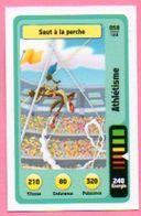 IM470 : Carte Looney Tunes Auchan 2014 / N°058 Athlétisme Saut A La Perche - Trading Cards