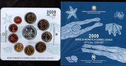 2009 DIVISIONALE FDC - 10 VALORI - 5€ ARGENTO CAMPIONATI MONDIALI DI NUOTO - Italie