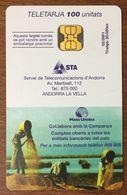 ANDORRE NANS UNIDES RÉF PHONECOTE AND121 TÉLÉCARTE PHONECARD UT CARD TELECARTE - Andorre
