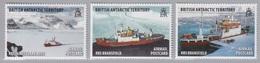BAT, N° 550 à 555 (Bateaux Royaux De Recherche), Neufs ** - Britisches Antarktis-Territorium  (BAT)