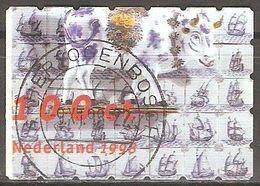 Pays Bas - 1998 - Faïence De Delft - YT 1615 Oblitéré - 1980-... (Beatrix)