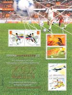 CHINA - MINISHEET 2002 WORLDCUP IN OFFICIAL FOLDER /ak1111 - 1949 - ... République Populaire