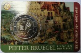 2 Euros 2019 Belgique Bruegel - Coincard - Bélgica