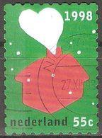 Pays Bas - 1998 - Fumée En Forme De Cœur - YT 1667 Oblitéré - 1980-... (Beatrix)