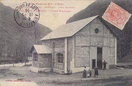 VALLE D ARAN : PONTAUT. TRES TRES RARE CAP.L' USINA ELECTRICA ANIMEE.1910.T.B.ETAT.PETIT PRIX.COMPAREZ!!! - Lérida