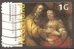 Pays Bas - 1999 - La Fiancée Juive De Rembrandt - YT 1703 Oblitéré - 1980-... (Beatrix)