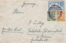 INDIA - AIR MAIL LETTER 1931 Nach DEUTSCHLAND /AK574 - India (...-1947)