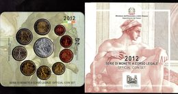 2012 - REPUBBLICA ITALIANA - DIVISIONALE  - 550 ANN. PRESENTAZIONE AFFRESCHI CAPPELLA SISTINA - Italie