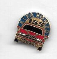 Pin's  Automobile  ALFA  ROMEO  155  Rouge - Alfa Romeo