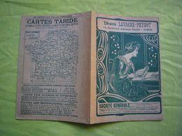 Joli Protège-cahier Librairie Lavagne-Peyrot à Nimes Style Art Nouveau Pub Société Générale13X19 Cm - Papel Secante