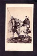 CDV CHARDON Jeune  PARIS  :   Granville 1868 éditeur Morier  Vintage Albumen - Ancianas (antes De 1900)