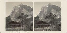 Stereo, Grindelwald, Wetterhorn, Wehrli - Visionneuses Stéréoscopiques