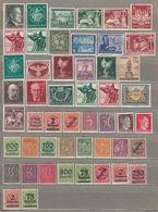 GERMANY DEUTSCHES REICH MNH(**)/MH(*) #21642 - Briefmarken