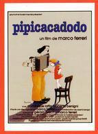 Carte Postale : Pipicacadodo (film De Marco Ferreri - Cinéma - Affiche) Illustration : Blachon (accordéon) - Posters On Cards