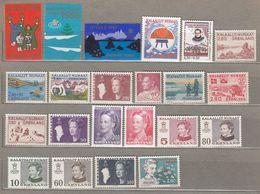 GREENLAND GROENLAND Nice MNH(**) Stamps Lot #21612 - Briefmarken