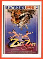 Carte Postale : Zig Zag Story (et La Tendresse Bordel ! 2) (film - Cinéma - Affiche) Illustration : Blachon - Posters On Cards
